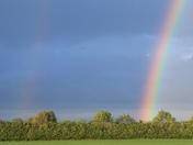 Thursday night rainbows