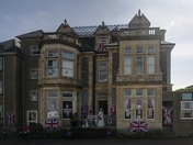 VE Day Decorations at Beach Lawns Care Home