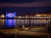 The Pier in Blue…