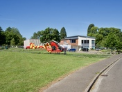 Air Ambulance at Hadleigh today Friday 29/05/2020