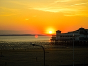 Sun going down…
