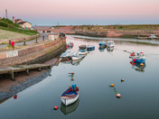 Spring Sunset at Axmouth