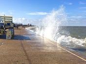 High tide at hunstanton