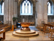 PROJ 52, WATER, FONT IN NORWICH CATHEDRAL