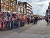 Barking Market reopens during pandemic