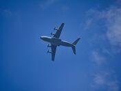 RAF over Sand Bay