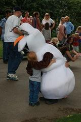 Olaf meets Covid Cobra