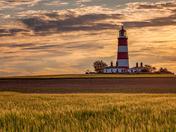 Evening light over Happisburgh Lighthouse