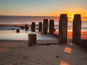Sunrise on Walcott Beach