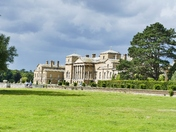 STORM CLOUDS GATHERING OVER HOLKHAM HALL